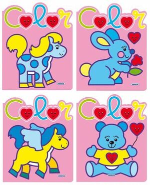 LOVE COLOR (4 TÍTULOS)