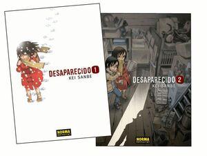 PACK DESAPARECIDO 1+2