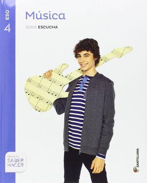 MUSICA SERIE ESCUCHA 4 ESO SABER HACER