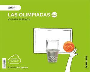 CUANTO SABEMOS NIVEL 3 LAS OLIMPIADAS 3.0