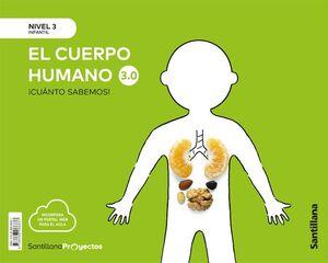 CUANTO SABEMOS NIVEL 3 EL CUERPO HUMANO 3.0