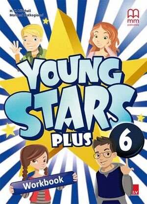 YOUNG STARS PLUS 6 WORKBOOK