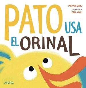 PATO USA EL ORINAL