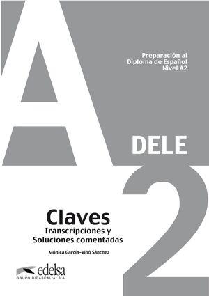 PREPARACIÓN AL DELE A2. LIBRO CLAVES