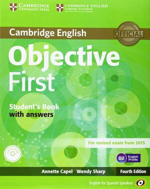 OBJECTIVE FIRST FOR SPANISH SPEAKERS SELF-STUDY PACK (STUDENT'S BOOK WITH ANSWER