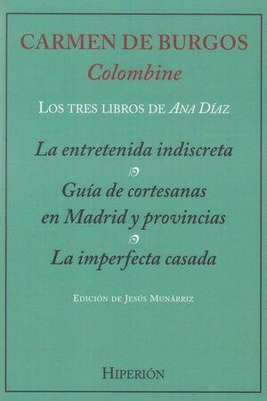 LOS TRES LIBROS DE ANA DÍAZ