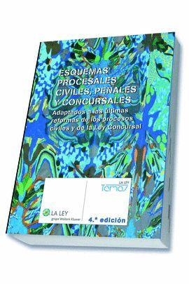 ESQUEMAS PROCESALES CIVILES, PENALES Y CONCURSALES (4.ª EDICIÓN)