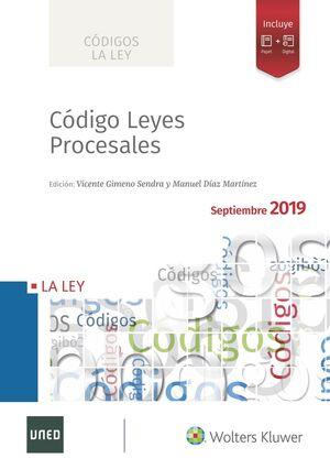 CÓDIGO DE LEYES PROCESALES 2019