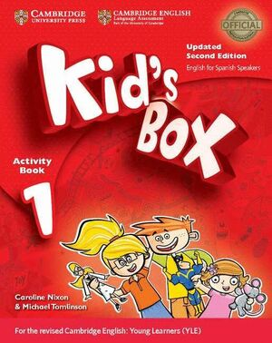 KID'S BOX LEVEL 1 ACTIVITY BOOK WITH CD-ROM UPDATED ENGLISH FOR SPANISH SPEAKERS