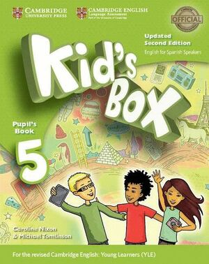 KID'S BOX LEVEL 5 PUPIL'S BOOK UPDATED ENGLISH FOR SPANISH SPEAKERS 2ND EDITION