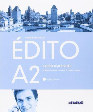 EDITO A2 EXERCICES+CD