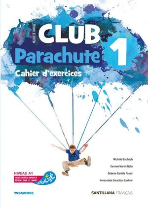 CLUB PARACHUTE 1 PACK CAHIER D'EXERCICES