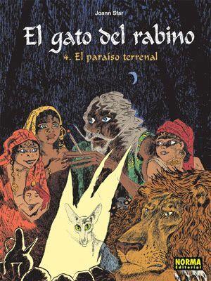 EL GATO DEL RABINO 4 - EL PARAISO TERRENAL