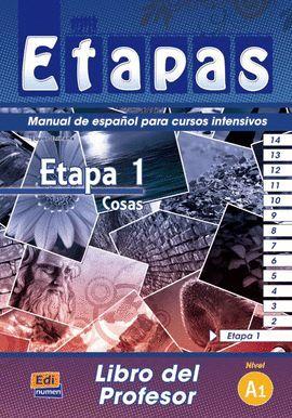 ETAPA 1, COSAS. LIBRO DEL PROFESOR