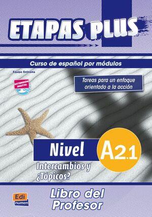 ETAPAS PLUS, A2.1. LIBRO DEL PROFESOR