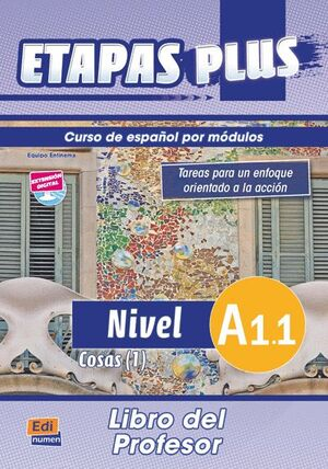 ETAPAS PLUS, A1.1. LIBRO DEL PROFESOR