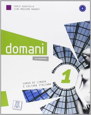 DOMANI 1 ALUM+DVD