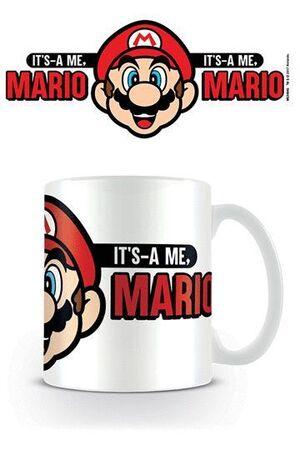 SUPER MARIO TAZA ITS A ME MARIO