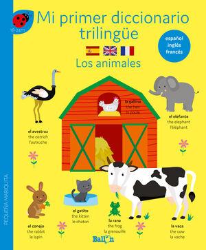 DICCIONARIO TRILINGUE-LOS ANIMALES