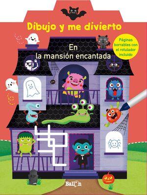 DIBUJO Y ME DIVIERTO MANSION ENCANTADA