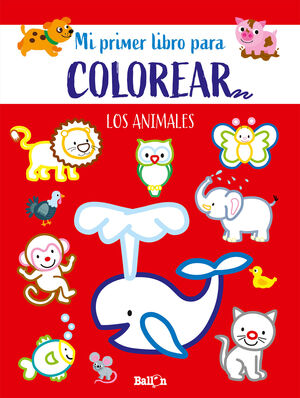 LOS ANIMALES PRIMER LIBRO COLOREAR