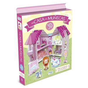 MI CASA DE MUÑECAS EN 3D (LIBRO + MAQUETA)